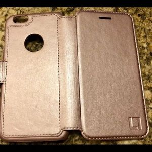 Accessories - iPhone case  w/credit card and ID comp